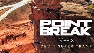 Insane Stunts Escaping FBI - Point Break! | DEVINSUPERTRAMP