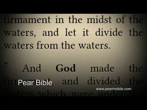 Video of Bible KJV