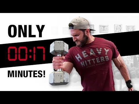 BIGGER Biceps Made Easy (SUPER FAST SUPER-SETS!) (видео)
