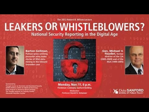 Leakers or Whistleblowers? National Security Reporting in the Digital Age