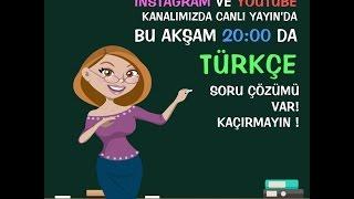 Kanalımıza abone olup beğenmeyi unutmayınÇöz Kazan Yayınları 5'li YGS Deneme Setini Almak İçin www.cozkazan.com.tradresini ziyaret edin.