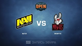 Na'Vi vs Misfits - Dreamhack Tours - de_train [CrystalMay, sleepsomewhile]