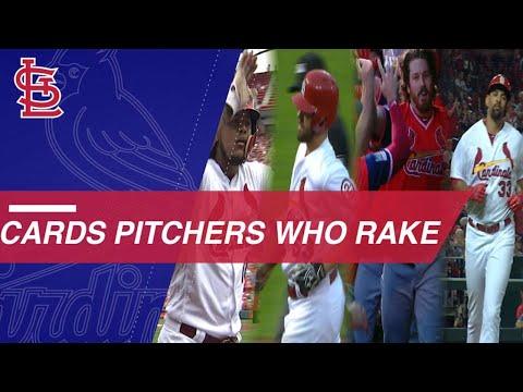 4 Cardinals pitchers have hit home runs this season