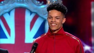 Balance Unity dancing on Britain's Got Talent 2016, Final.