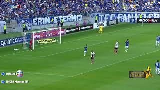 Cruzeiro X Flamengo Campeonato brasileiro 2017 Gols Flamengo Éverton.