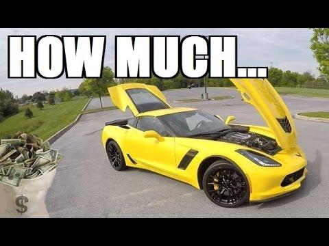 Price of chevrolet corvette z06 фотография