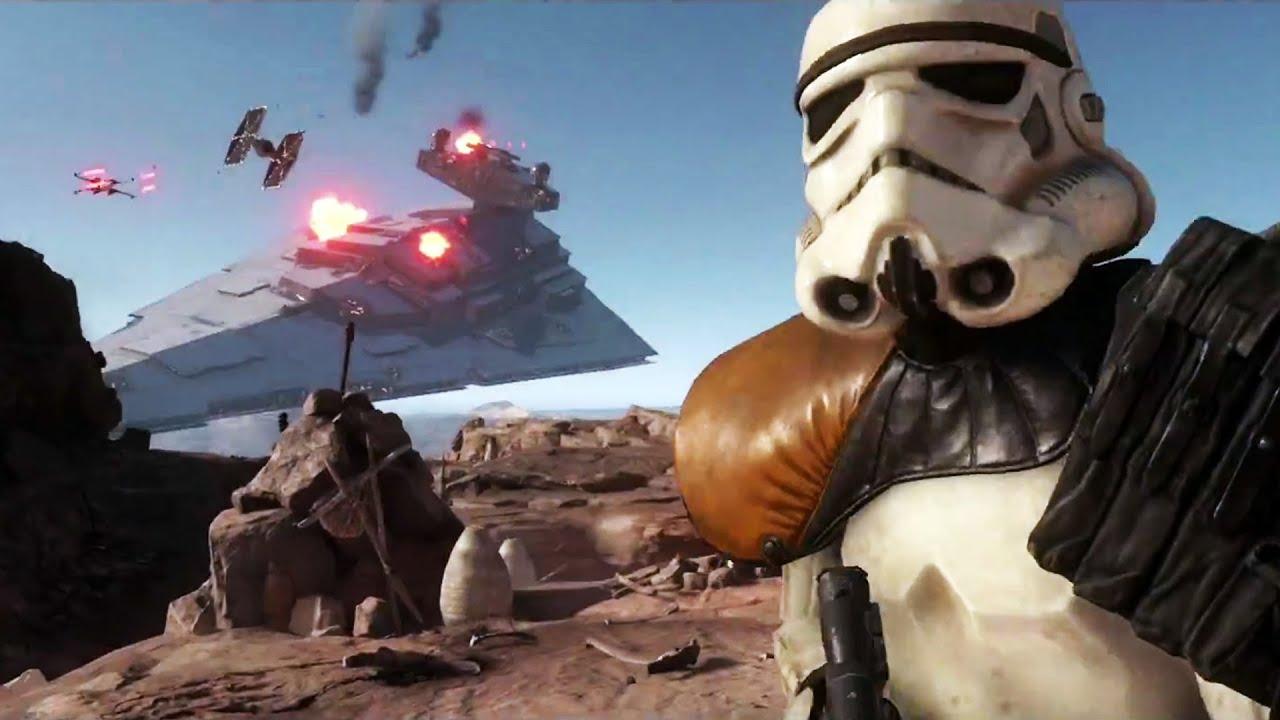 STAR WARS BATTLEFRONT Trailer [E3 2015] #VideoJuegos #Consolas