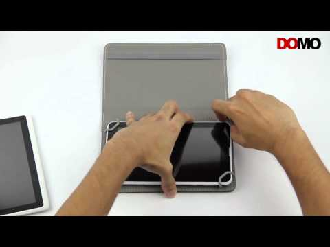 DOMO nCase B9 Universal Carry Case for Tablets with KickStand and 360 Degree Rotation