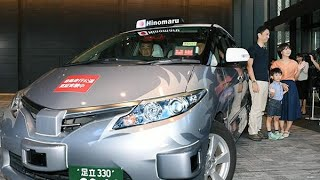 Self-driving taxi tested in Tokyo
