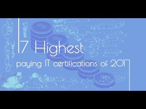 2017 Top 15 Highest Paying IT Certifications