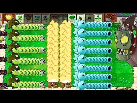 1 Dr. Zomboss vs Gatling Pea and Snow Pea Challenge Plants vs Zombies - Thời lượng: 11:43.