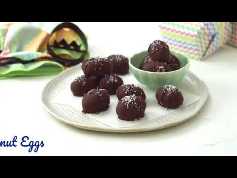 Chocolate coconut eggs thumbnail 3