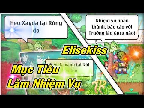 Ngọc Rồng Online - Mục Tiêu Làm Nhiệm Vụ Elisekiss Đến Nhiều Vùng Đất - Thời lượng: 10:10.