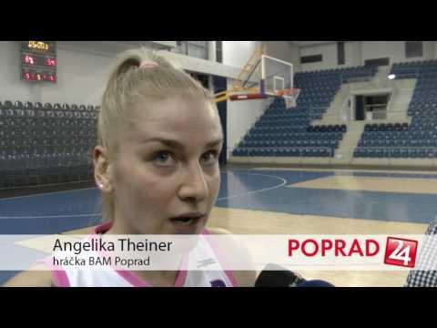 Basketbal: BAM Poprad - Banská Bystrica 03/2017 64:54