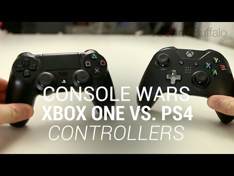 technobuffalo - Console Wars: Xbox One Vs. PlayStation 4 - Controllers (Round 1) Hardware (Round 2) - http://tchno.be/1iqsSaM With a new generation of gaming consoles now up...