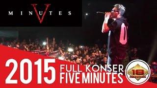 Rock Abiiis..!! Konser Five Minutes Bikin Yang Nonton Angguk Angguk Kepala