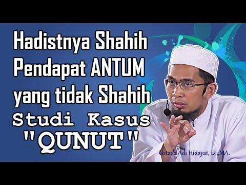 Video Hadistnya SHAHIH pendapat ANTUM yang TIDAK SHAHIH, studi kasus QUNUT - Ustadz Adi Hidayat, Lc.,MA. download in MP3, 3GP, MP4, WEBM, AVI, FLV January 2017