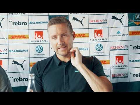 Presskonferens efter förlusten mot Helsingborg