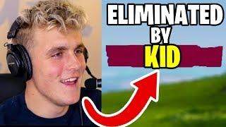 5 KIDS That KILLED FORTNITE YouTubers in FORTNITE: Battle Royale (Ninja, Muselk)