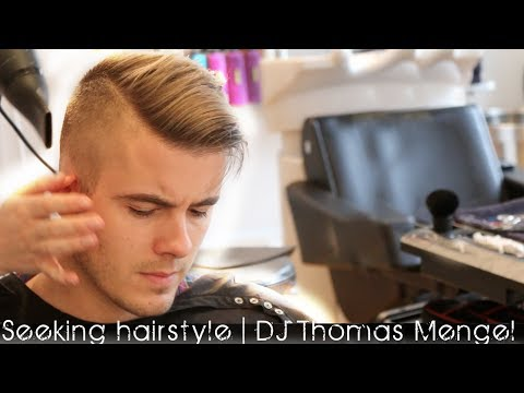 thomas - DJ hairstyle 2014 | DJ Thomas Mengel seeking new release. Hair products online - http://www.SlikhaarShop.com Follow Slikhaar at - https://www.facebook.com/Sl...