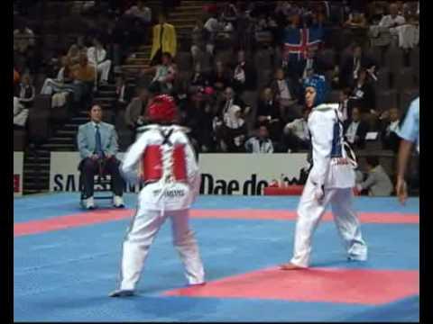 World Taekwondo Qualification Tournament for Beijing Olympic Games Manchester Female -67 kg Canada vs Turkey Round 1