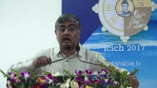 R Balakrishnan, Additional Chief Secretary-cum-Development Commissioner, GoO - ICICH 2017 - Speech