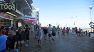 Ocean City (MD) United States  city images : Ocean City Maryland Wooden Boardwalk