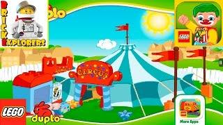 LEGO DUPLO Circus funny game for Kids #2 juego divertido para los niños
