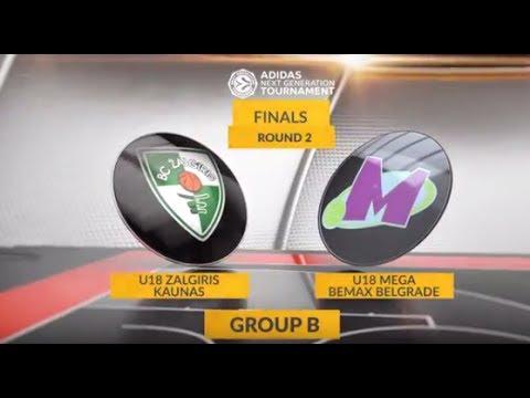 EB ANGT Finals Highlights: U18 Zalgiris Kaunas-U18 Mega Bemax Belgrade
