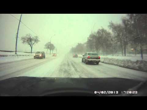 Машина исчезла (видео)