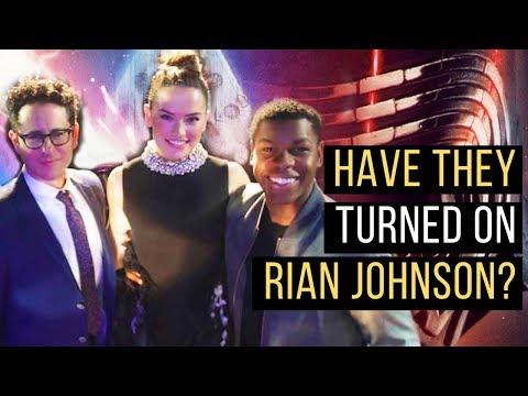 J.J. Abrams & Cast TURN ON Rian Johnson & The Last Jedi???
