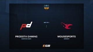 PD Gaming vs Mousesports, Game 2, Dota Summit 7, EU Qualifier