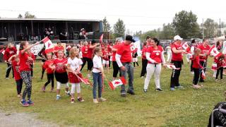 Kirkland Lake Canada  city photo : Flash Mob in Kirkland Lake, Canada Day 2015