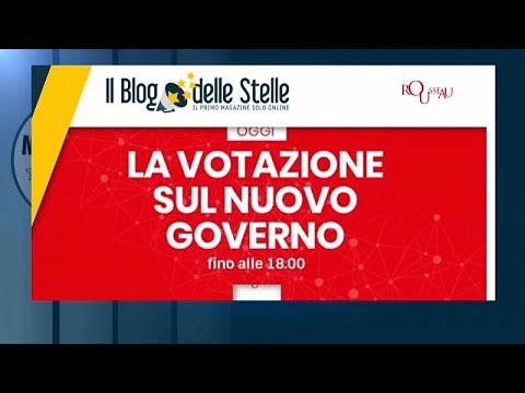 Italien: Fünf-Sterne-Mitglieder stimmen mit 79 Prozent für Koalition mit Sozialdemokraten