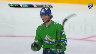 Barys 3 Salavat Yulaev 7, 22 September 2018