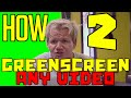 Sony Vegas 14 Tutorial:How To Make A Greenscreen Out Of Any Video(Advance Masking Tutorial)