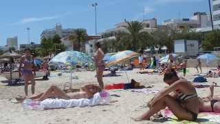 Cala Millor Spain  city photo : Cala Millor - Spanish Balearic Island of Mallorca