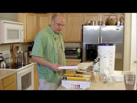 Make Your Own Brew 001 – Brewing My First Batch Of Beer