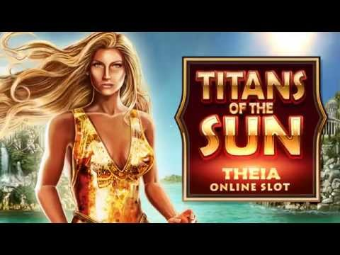 Titans of the Sun Theia online slot game [Wild Jackpots]