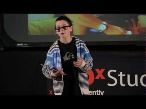 Can Online Gaming be Educational? Lewis Tachau 13yrs old TEDx Talk