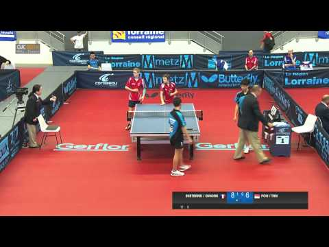 2014 French Junior & Cadet Open - Cadet Boy Doubles Semi Final