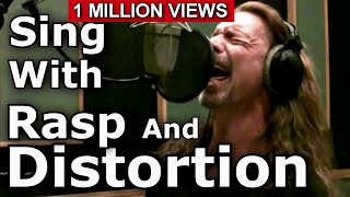 Video How To Sing With Distortion And Rasp - Ken Tamplin Vocal Academy MP3, 3GP, MP4, WEBM, AVI, FLV Oktober 2018