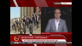 Millet ne derse o! - Bülent Turan Başkanlık sistemi tartışmalarını değerlendirdi.