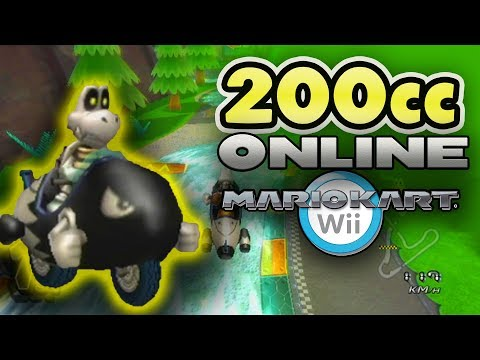 What if Mario Kart Wii had 200cc?! (All Wii Tracks)