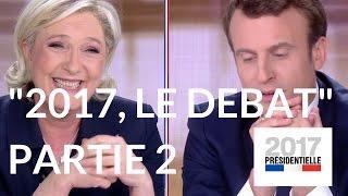 """Video """"2017, le débat"""" : Marine Le Pen - Emmanuel Macron (France 2) – Deuxième partie MP3, 3GP, MP4, WEBM, AVI, FLV Juli 2017"""