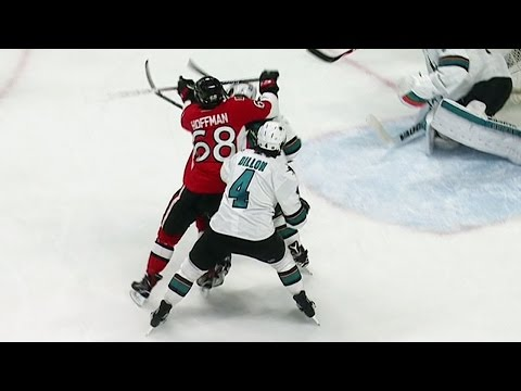 Video: Gotta See It: Hoffman lands vicious cross-check to head on Couture