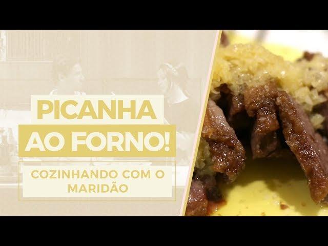 Cozinhando com o maridão: Picanha assada ao forno! - Mariah Bernardes