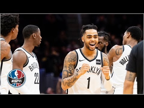 Video: D'Angelo Russell goes off for 36 as Nets best Cavs in 3OT thriller | NBA Highlights brooklyn nets