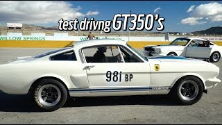 Test Drive Shelby GT350 Continuation Cars by Hot Rod Magazine