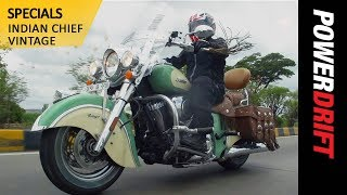 6. Exploring Coorg with the Indian Chief Vintage : Pitstop: PowerDrift